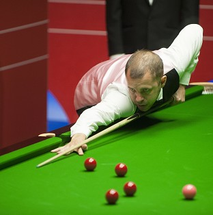Barry Hawkins claimed a dramatic win at the Crucible