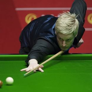 Neil Robertson became the first player to achieve a century of centuries in a season