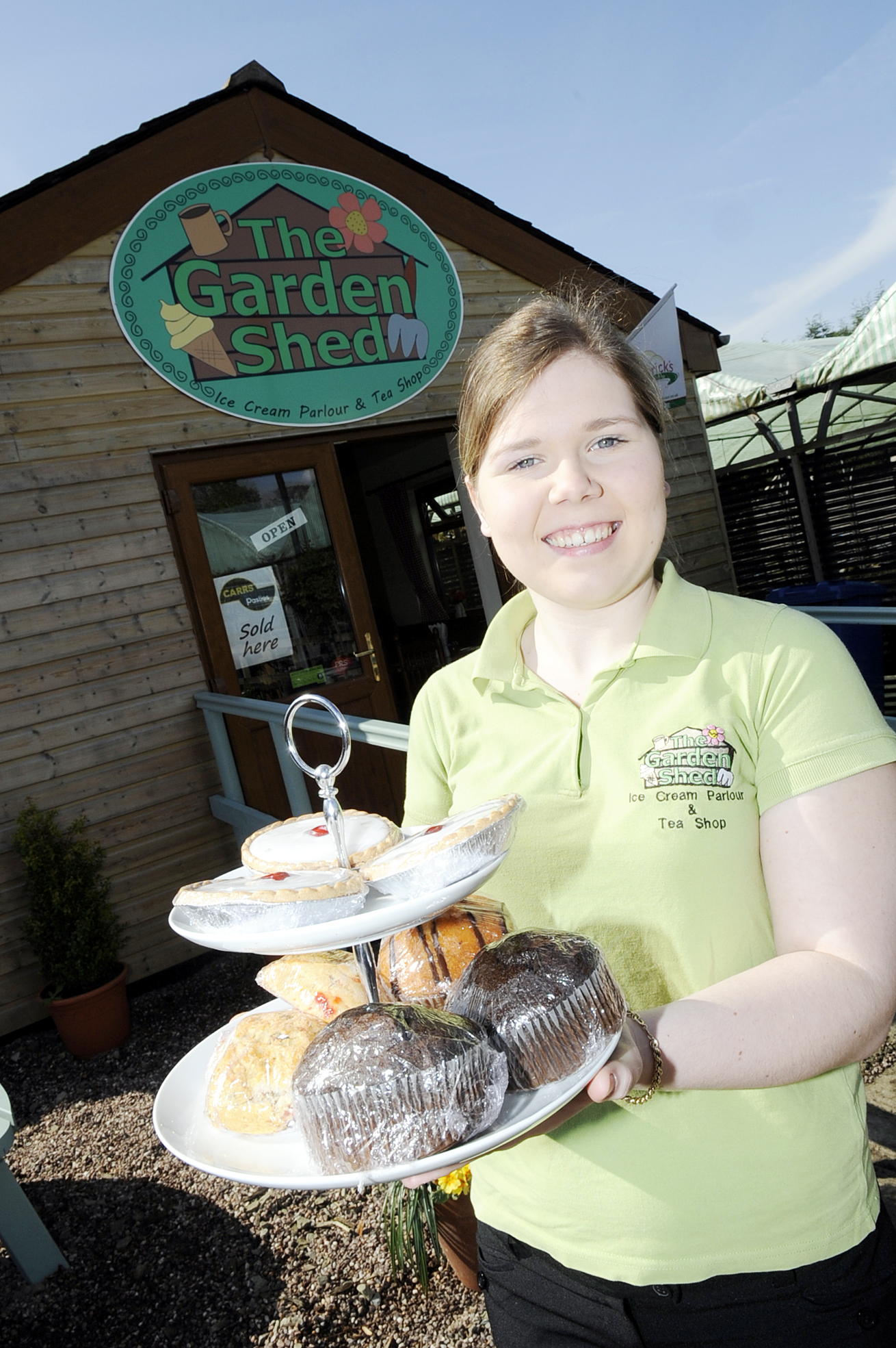 Business booming as garden centre's tea room takes off