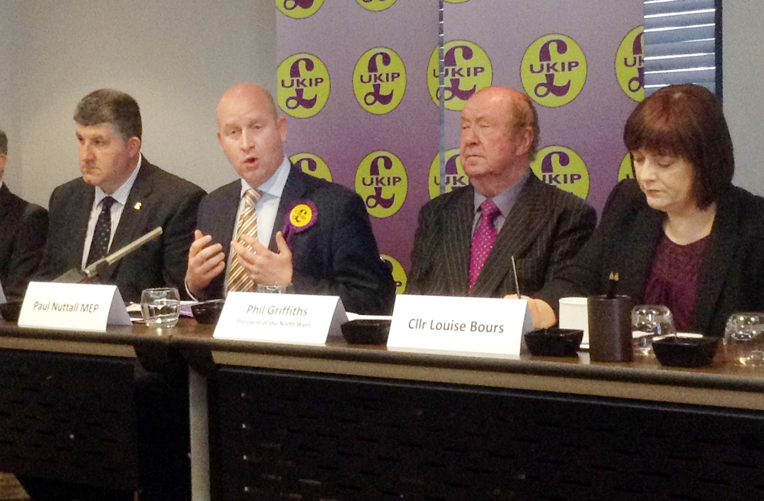 UKIP launched their North West election campaign today.