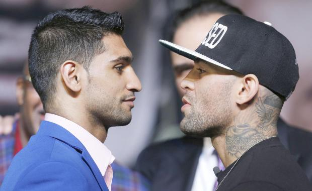 Amir Khan and Luis Collazo