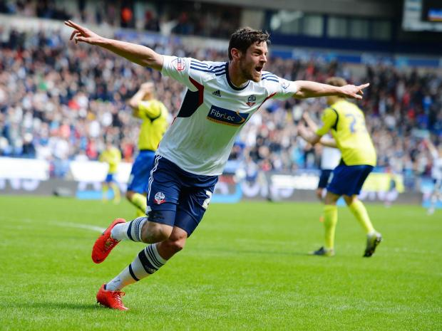 The Bolton News: Lukas Jutkiewicz will cost any admiring clubs £1million if they want to sign him