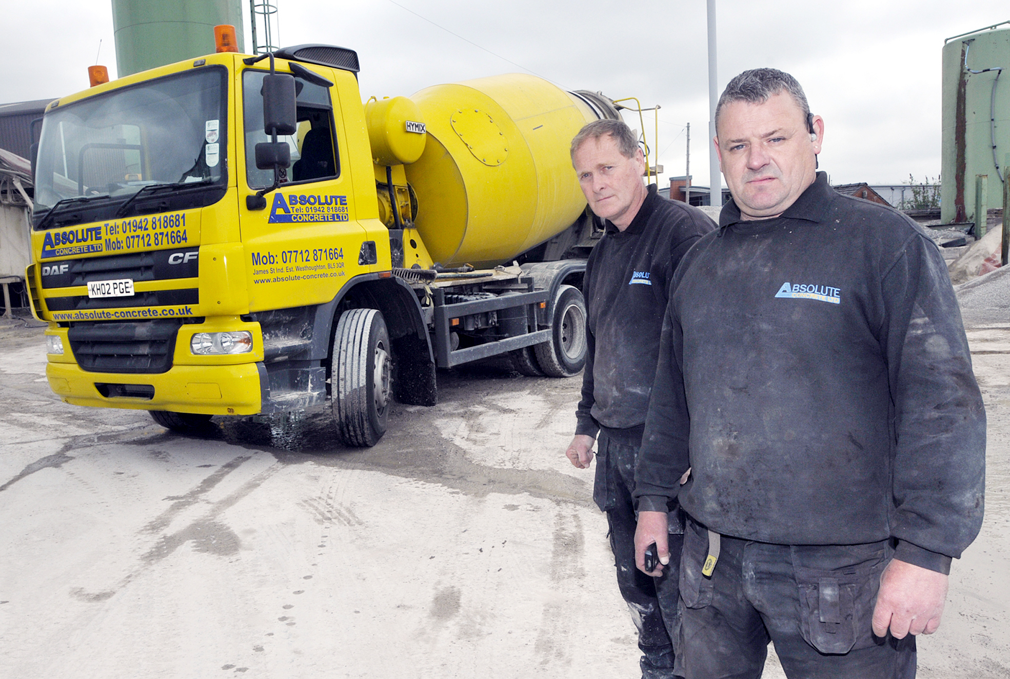 Thieves steal huge lorries from Westhoughton firm