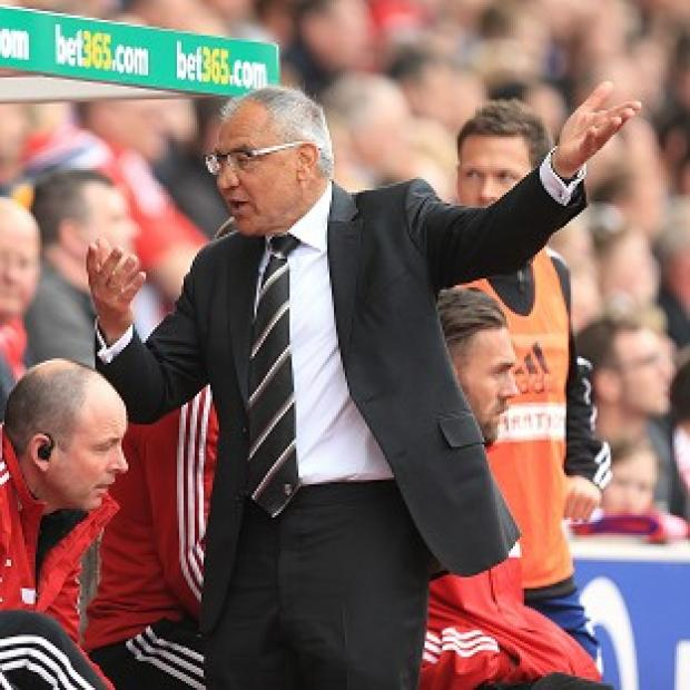 The Bolton News: Felix Magath has vowed to remain as Fulham manager despite their relegation