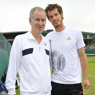 Andy Murray, right, could turn to John McEnroe, left, in his search for a coach