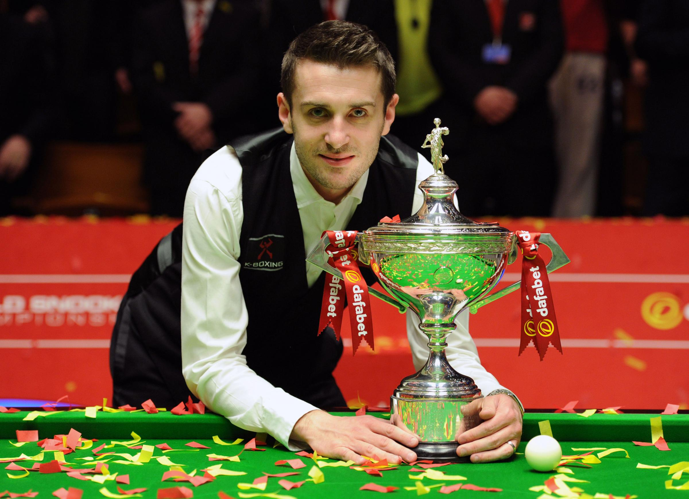New snooker world champion Mark Selby