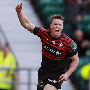 Saracens boss Mark McCall has backed wing Chris Ashton, pictured, for an England recall