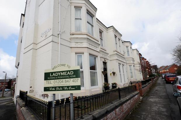 Ladymead care home in Heaton