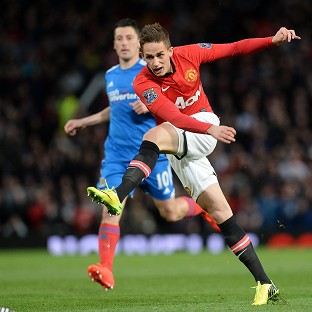 Adnan Januzaj, pictured, wants to be built like Ballon d'Or winner Cristiano Ronaldo