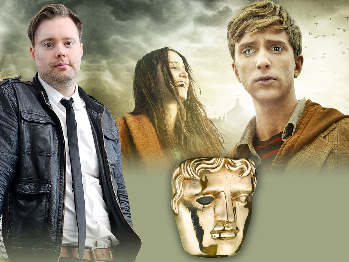 Award-winner Dominic Mitchell, and a scene from the BBC3 drama In the Flesh