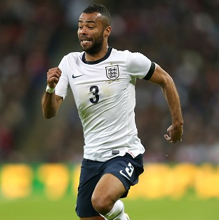 Ashley Cole is in danger of missing out on England's World Cup squad