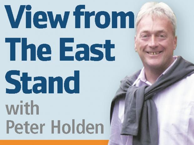 FAN'S VIEW OF THE BOLTON WANDERERS SEASON: View from the East Stand by Peter Holden