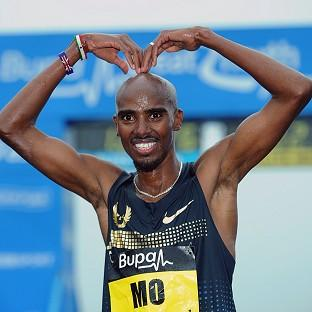 Mo Farah took to Twitter to confirm he will compete in Glasgow