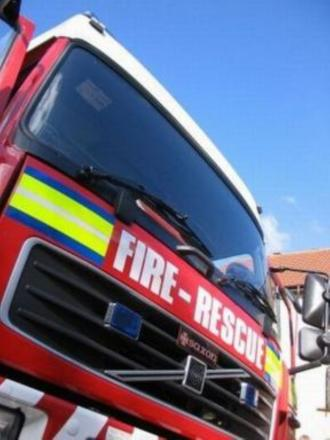 Residents evacuated after flat blaze