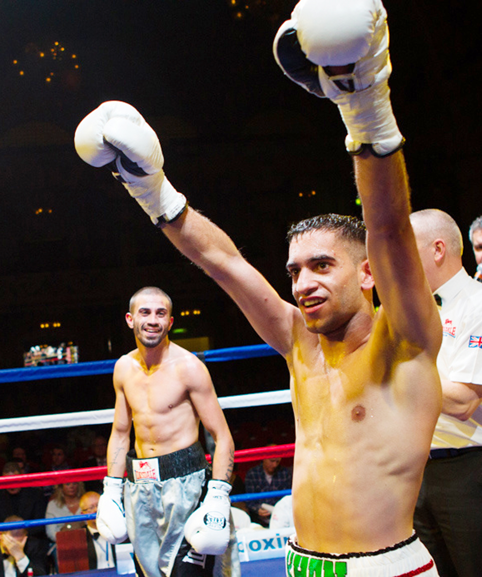 Haroon Khan will be looking to make it five successive wins as a professional on June 7