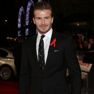 David Beckham was pleased with the England squad picked for the World Cup