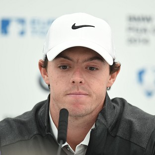 Rory Mcllroy, pictured, wants to focus on golf amid the break-up of his relationship with Caroline Wozniacki