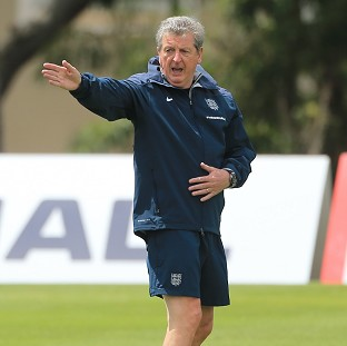 England manager Roy Hodgson has been impressed by the way his players have gone about their business