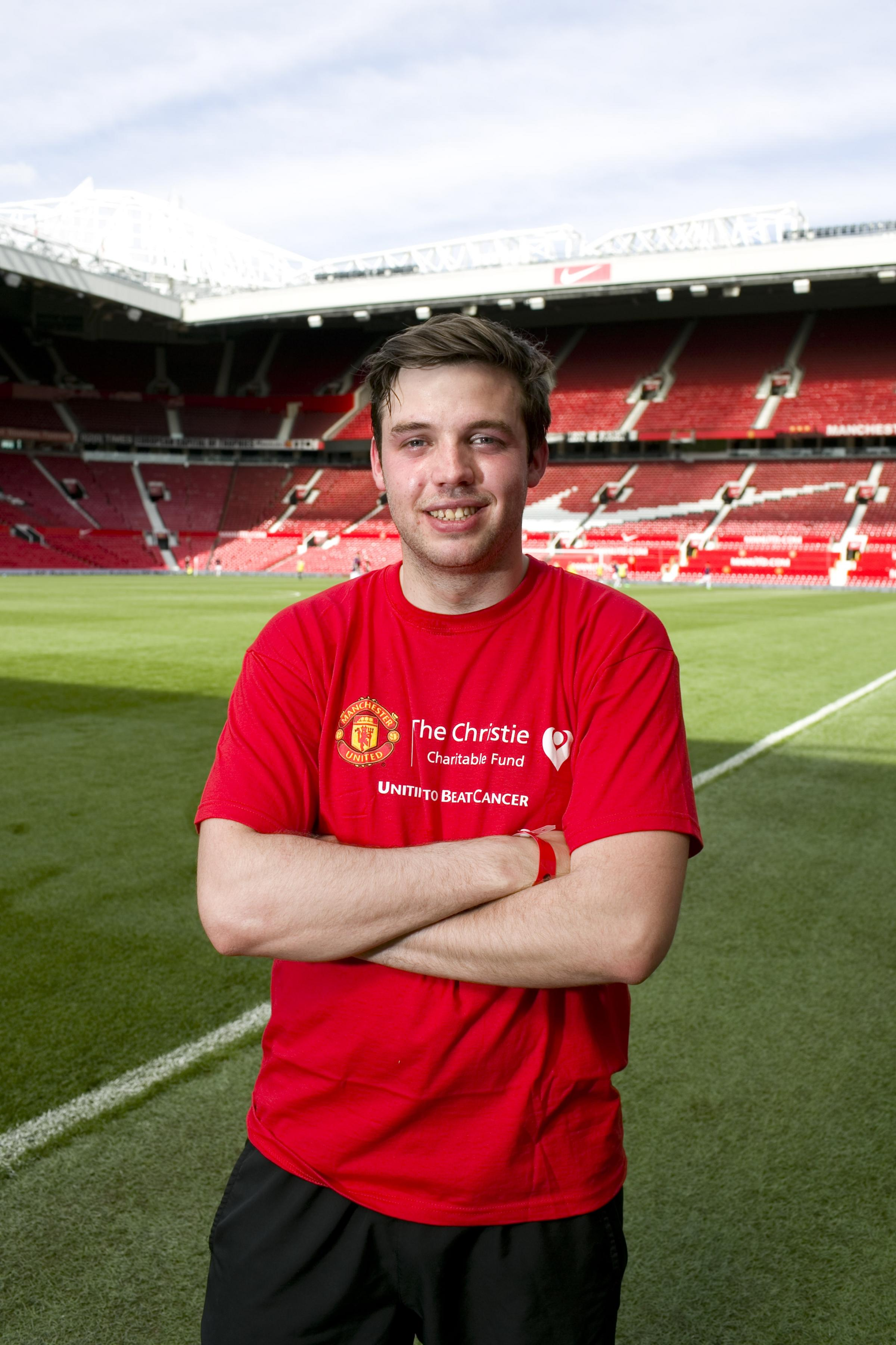 Manchester United-supporting reporters in dreamland as they play in charity match at Old Trafford