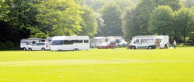 The travellers at Moss Bank Park