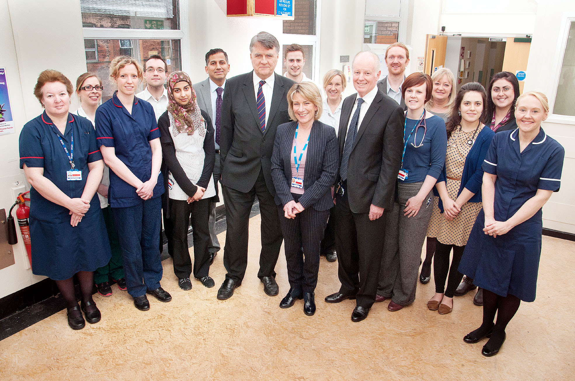 The award-winning team at the Royal Bolton Hospital