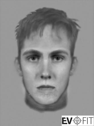 An e-fit of the man police believe is responsible