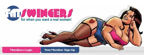 Graphic from The Fat Swingers website, where conman Jason Hart found his victim.