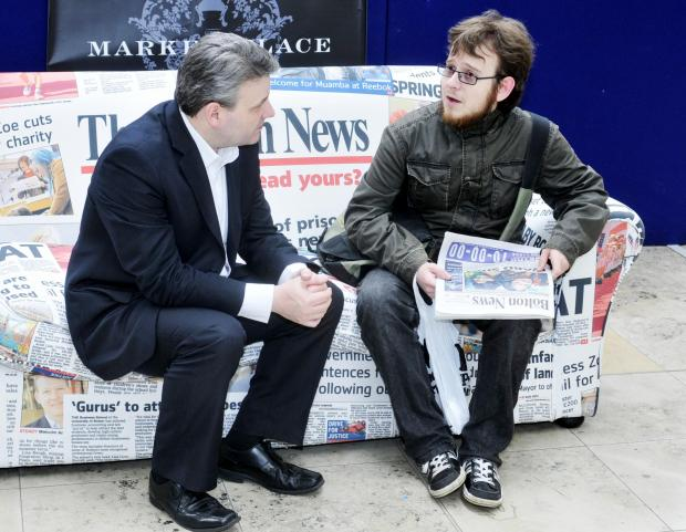The Bolton News: Ian Savage chats to Callum Gavin
