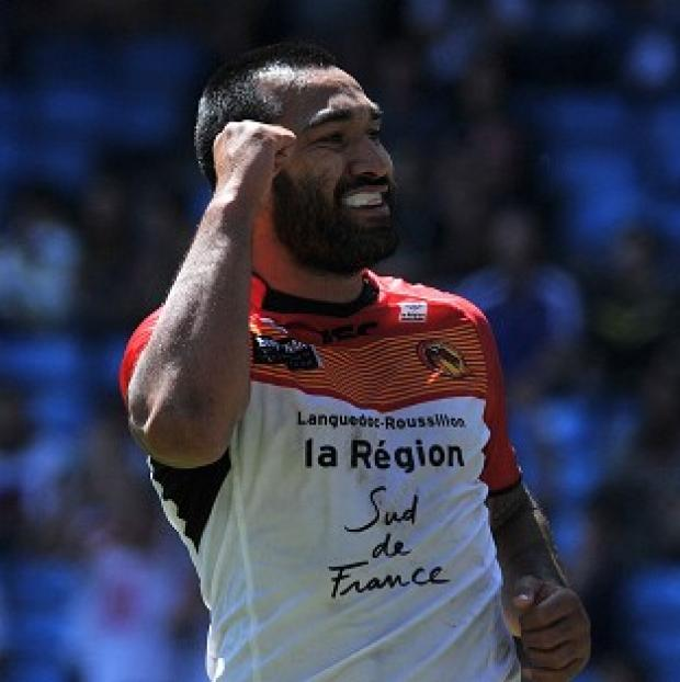 The Bolton News: Zeb Taia completed the scoring as the Catalan Dragons routed Bradford