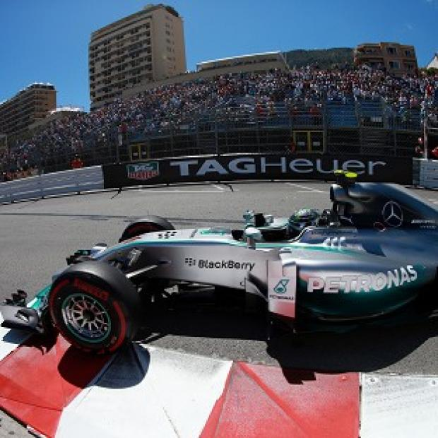 The Bolton News: Nico Rosberg took the chequered flag ahead of Lewis Hamilton