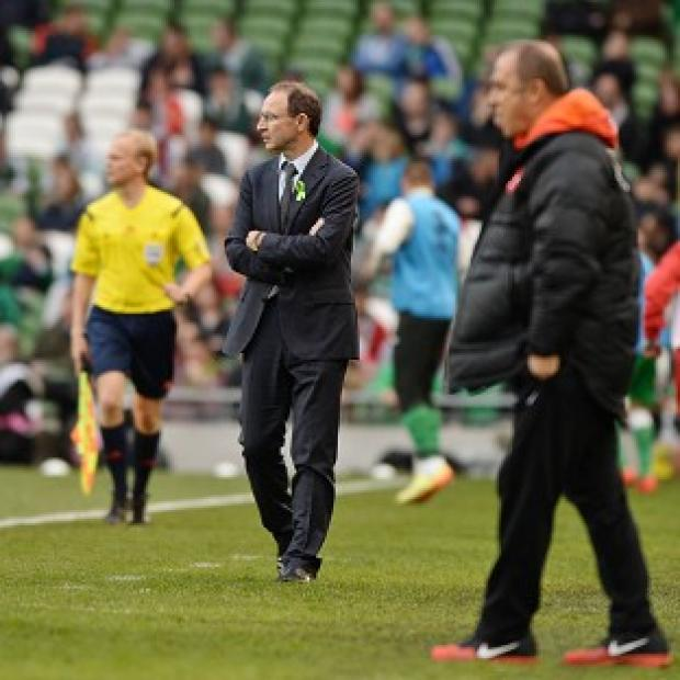 The Bolton News: Martin O'Neill watched his side slip to defeat