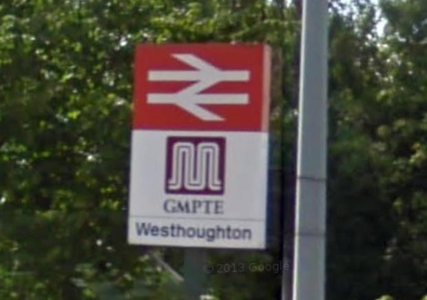 Westhoughton Station. Picture from Google Maps.