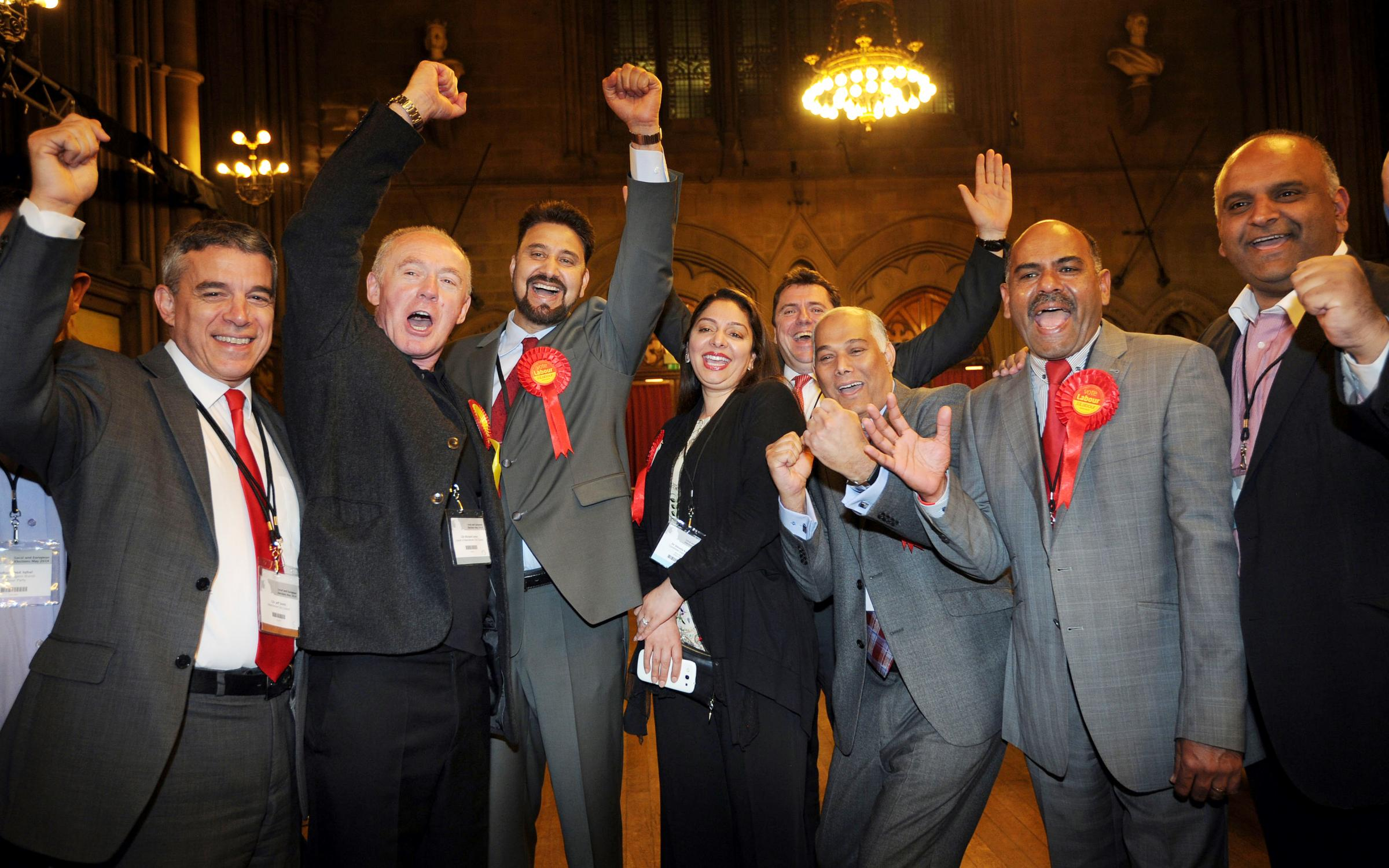 Labour storms to victory in Bolton's European elections - but UKIP is close behind