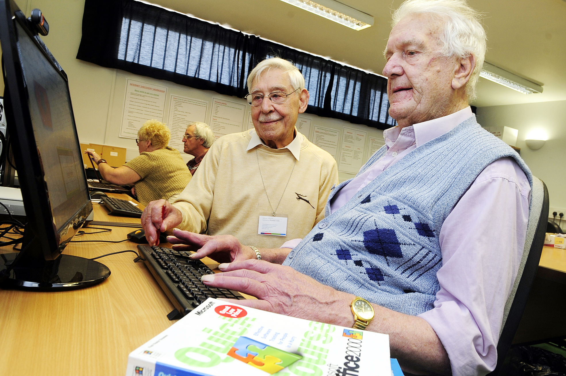 New tricks? 90-year-old sets up website with help from 91-year-old pal