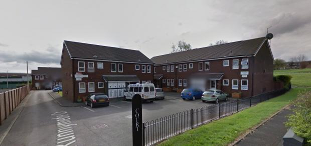 Runnymede Court, Deane, where a burglar fell asleep in an elderly couple's bedroom. Picture from Google Maps.