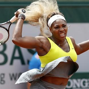 The Bolton News: Serena Williams is the latest big name to crash out of the French Open (AP)
