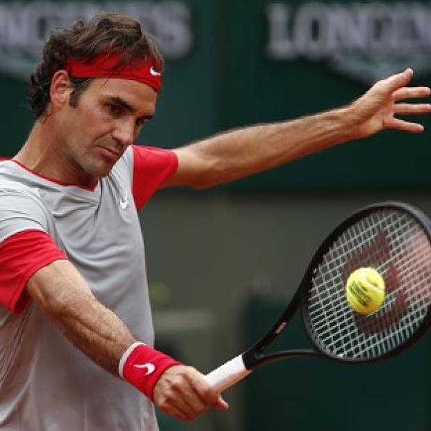 The Bolton News: Roger Federer cruised to victory (AP)
