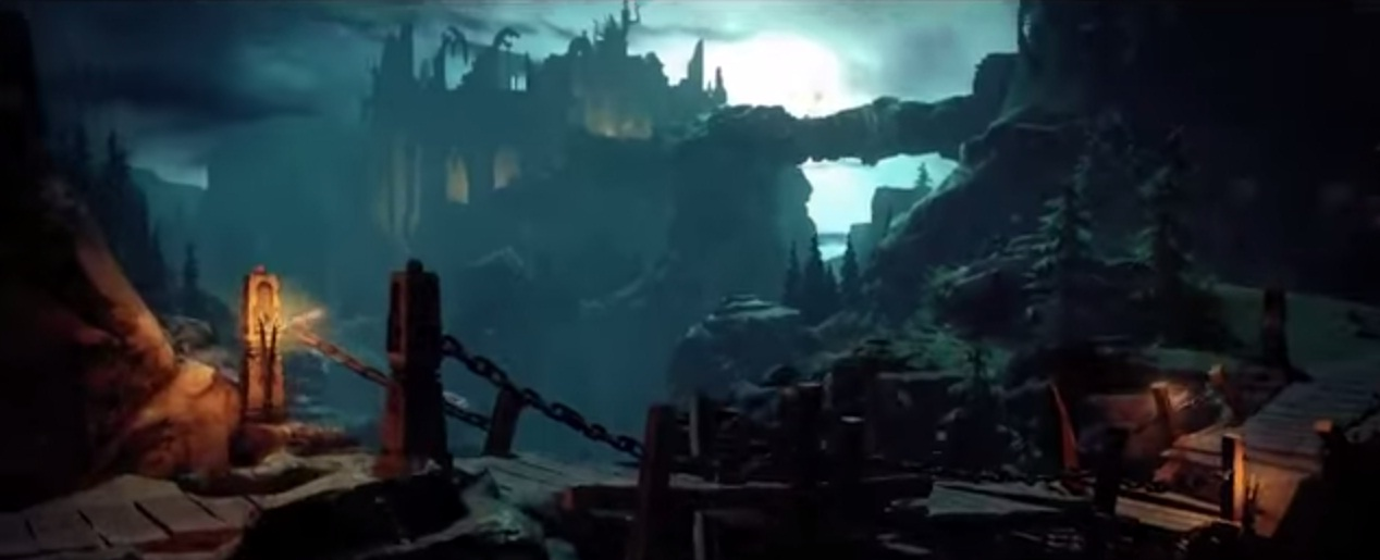 A scene from the trailer for Shadows: Heretic Kingdoms