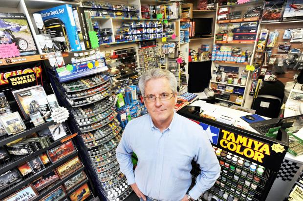 Mike Jolly in his shop