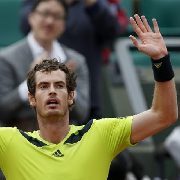 The Bolton News: Andy Murray beat Philipp Kohlschreiber 12-10 in the fifth set in their third-round match at the French Open (AP)