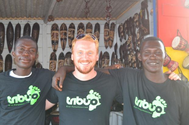 Gavin Ayre on a recent trip to West Africa