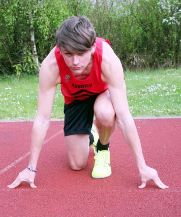 James Lovell wants to be in the top five in the country in his age group at 400m by the end of the summer