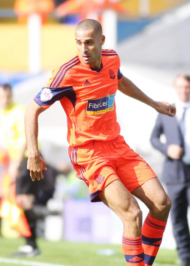 The Bolton News: UNLUCKY Darren Pratley