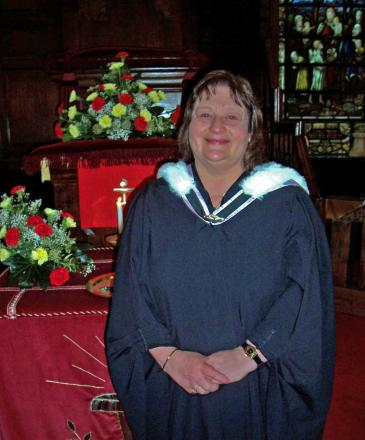 Chowbent Chapel minister Brenda Catherall