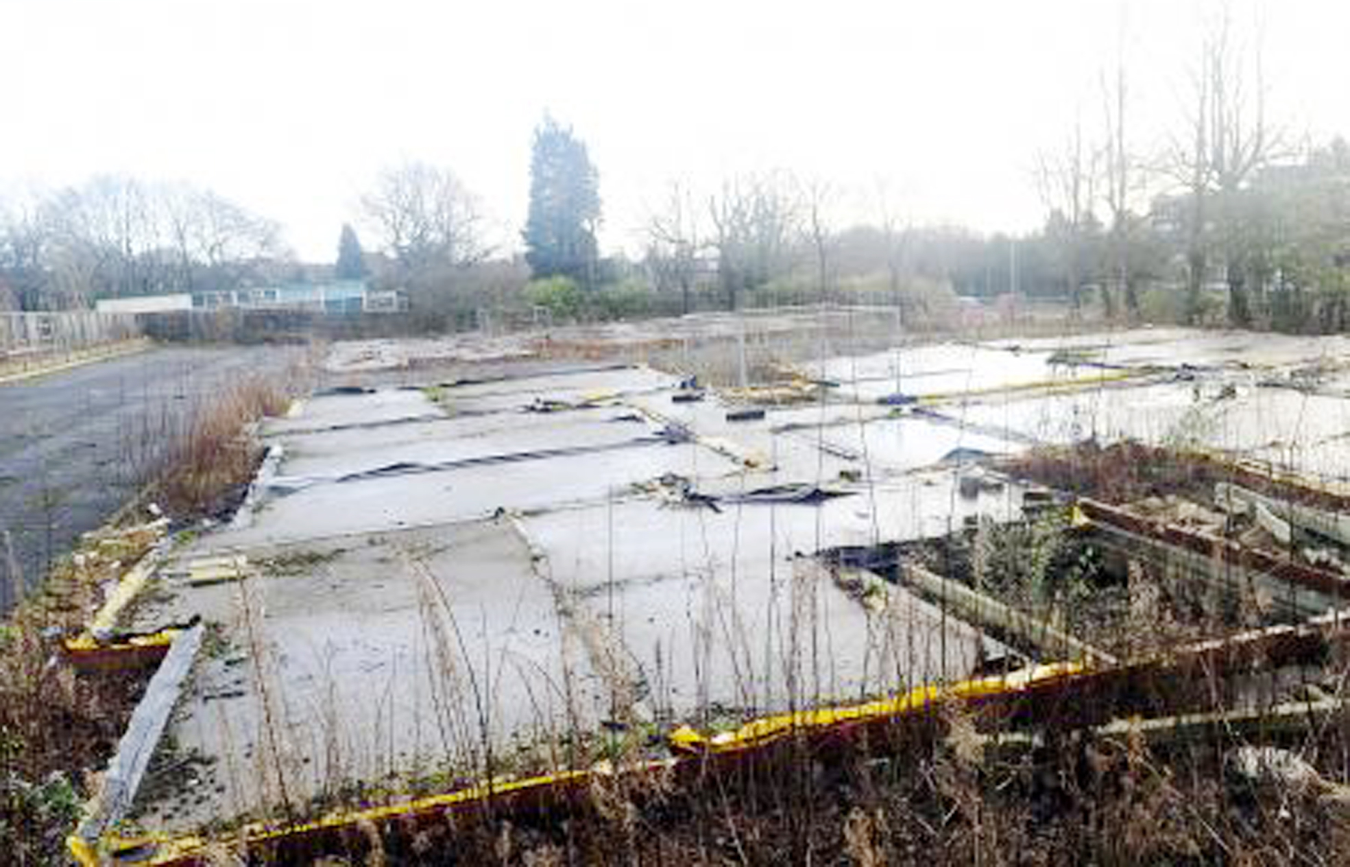 The Bolton News: The Swallowfield Hotel site in Chorley New Road, Horwich