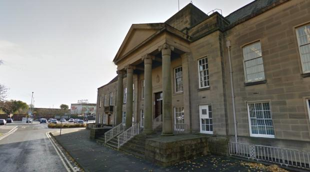 Burnley Magistrates Court. Picture from Google Maps.
