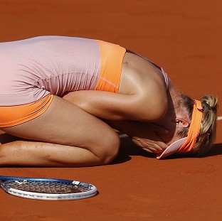 Maria Sharapova has won the French Open for the second time (AP)