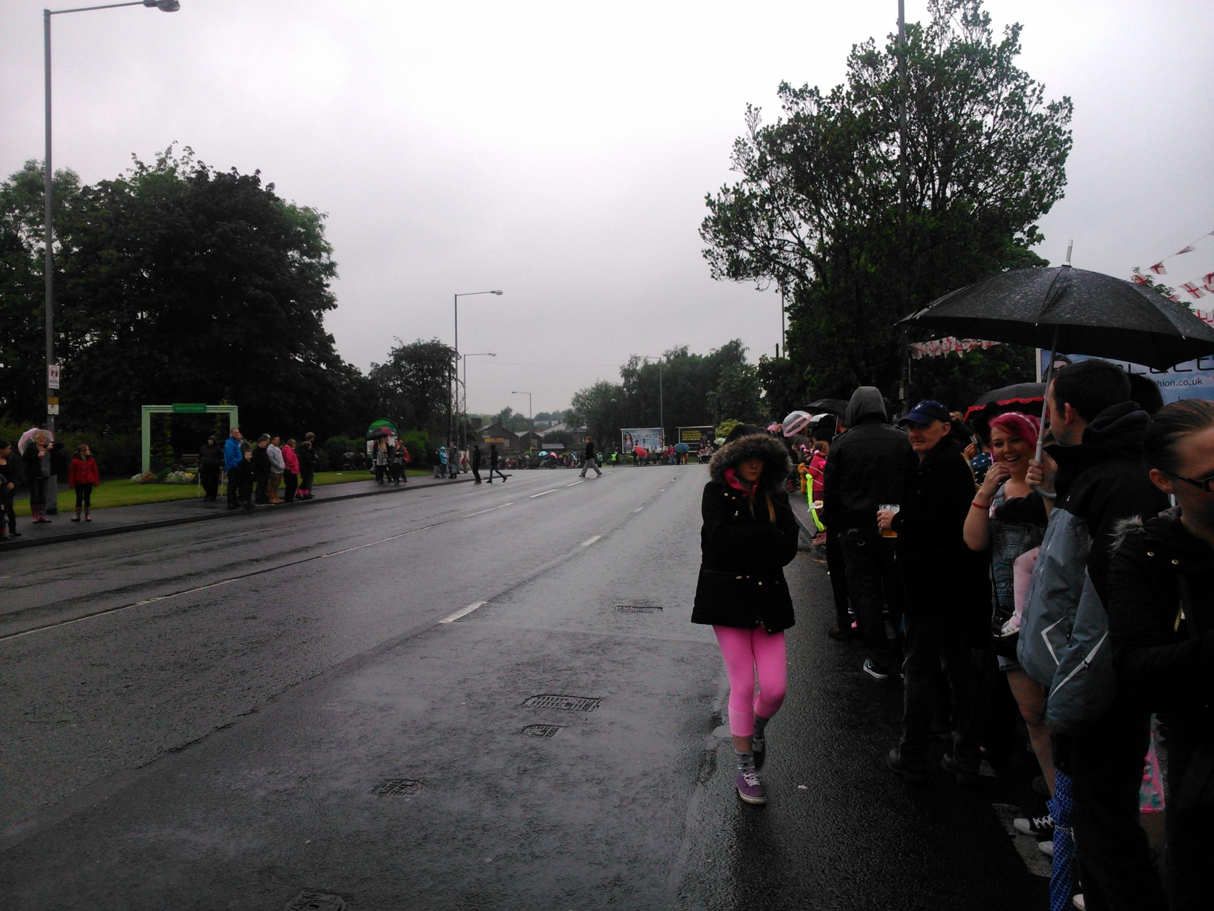 Radcliffe Carnival crowds up double on previous year despite downpours