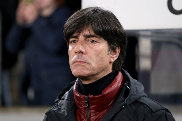 Joachim Low's Germany will be hoping the referee is strong tonight