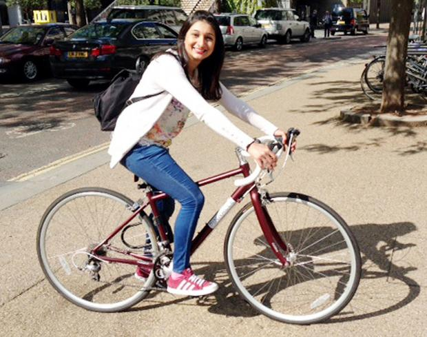 Curry queen Anjali Pathak gets on her bike to help youngsters in India